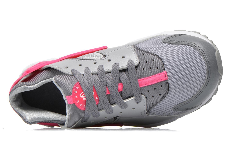 Baskets Nike Nike Huarache Run (Gs) Gris vue gauche