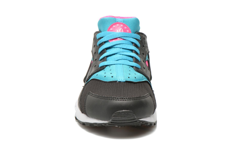 Sneaker Nike Nike Huarache Run (Gs) schwarz schuhe getragen