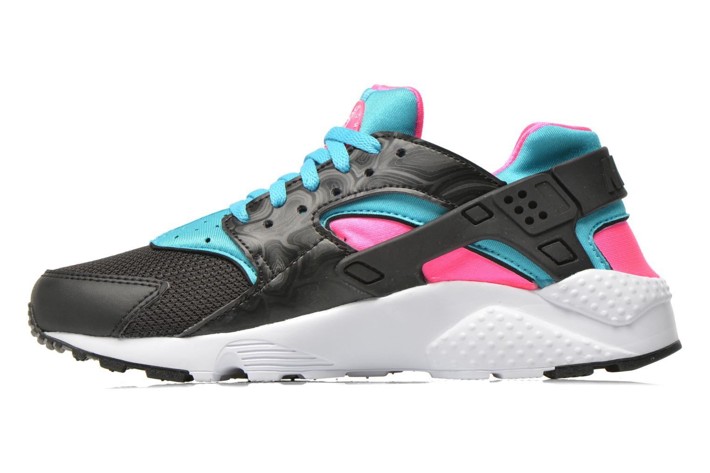 Sneaker Nike Nike Huarache Run (Gs) schwarz ansicht von vorne