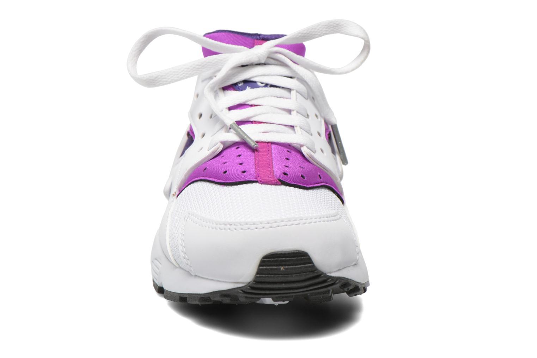 Trainers Nike Nike Huarache Run (Gs) White model view