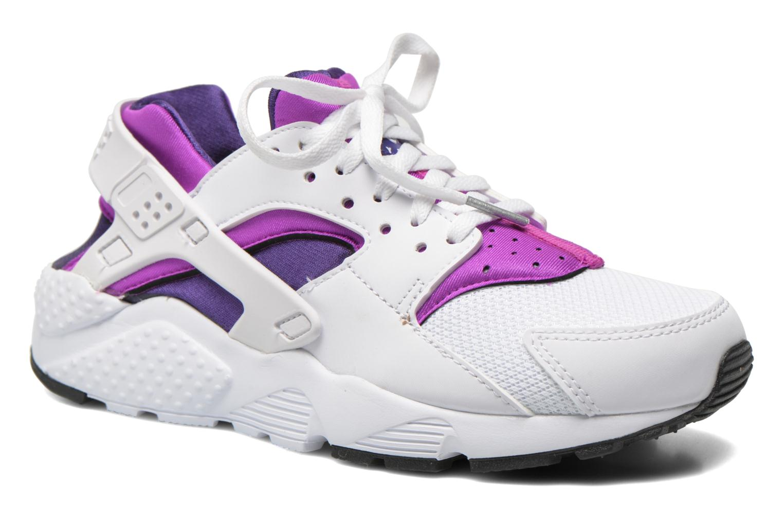 Trainers Nike Nike Huarache Run (Gs) White detailed view/ Pair view