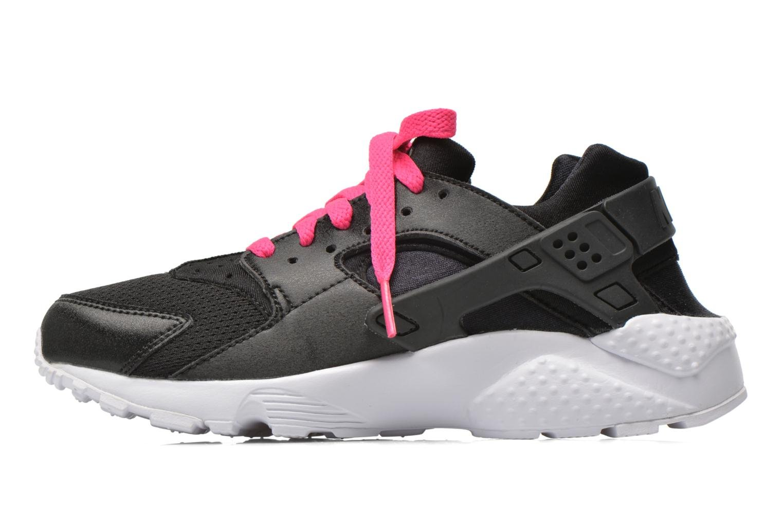 Sneakers Nike Nike Huarache Run (Gs) Zwart voorkant