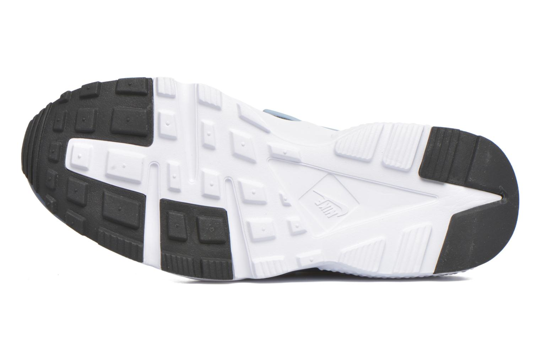 Baskets Nike Nike Huarache Run (Gs) Bleu vue haut