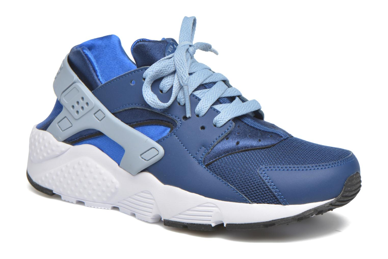 Baskets Nike Nike Huarache Run (Gs) Bleu vue détail/paire