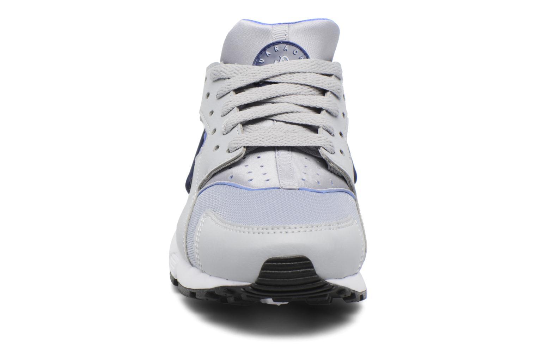Sneaker Nike Nike Huarache Run (Gs) grau schuhe getragen