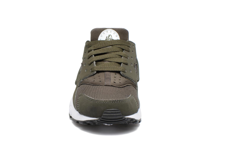 Baskets Nike Nike Huarache Run (Gs) Vert vue portées chaussures