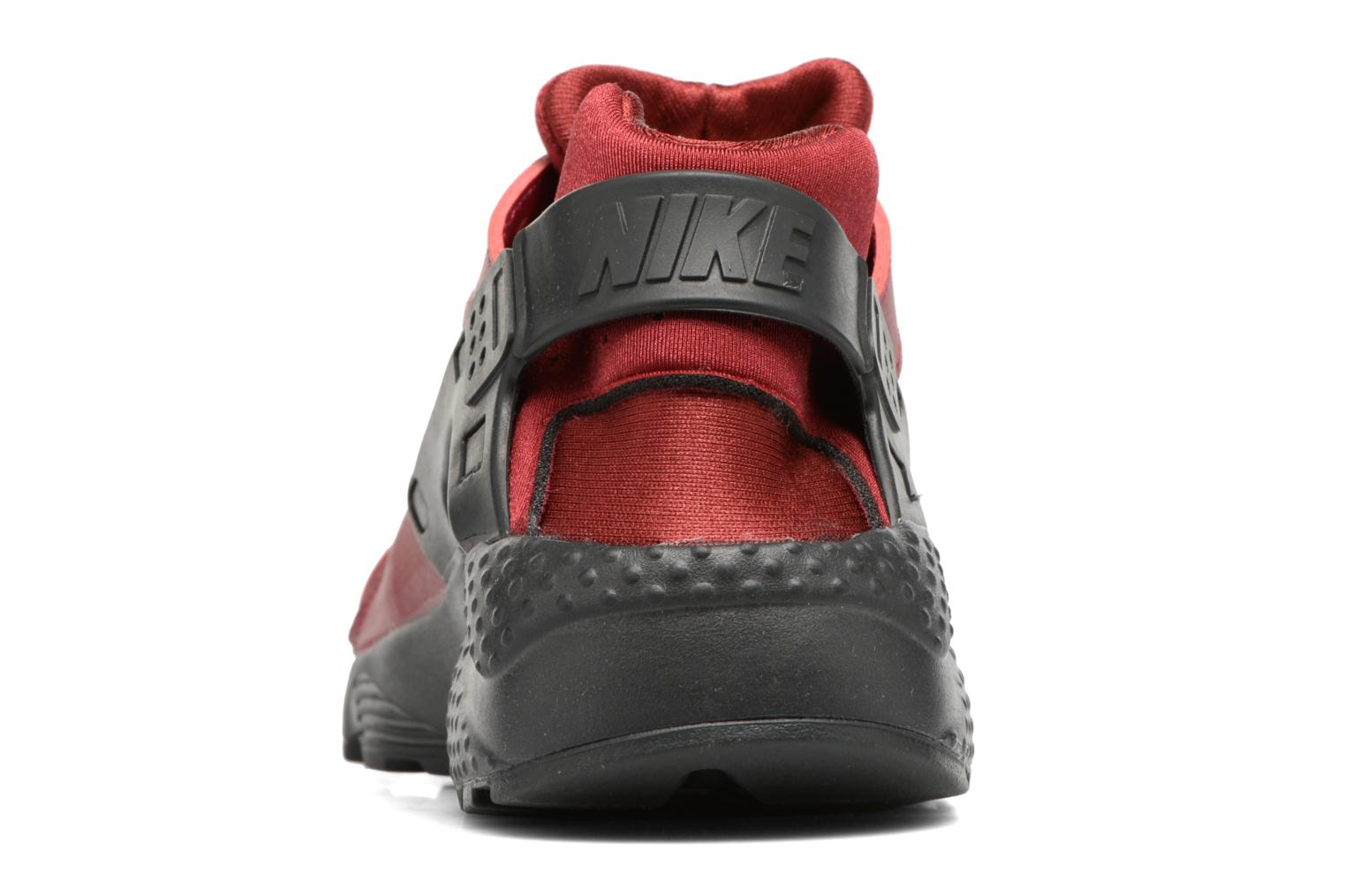 Trainers Nike Nike Huarache Run (Gs) Burgundy view from the right