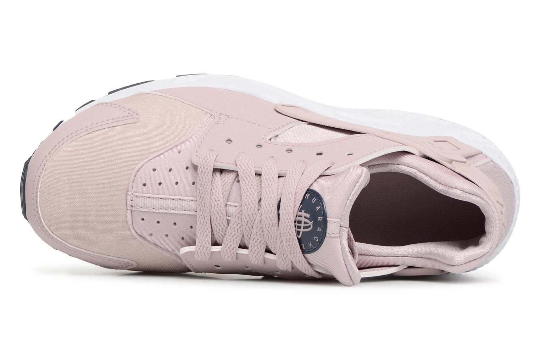 Sneaker Nike Nike Huarache Run (Gs) rosa ansicht von links