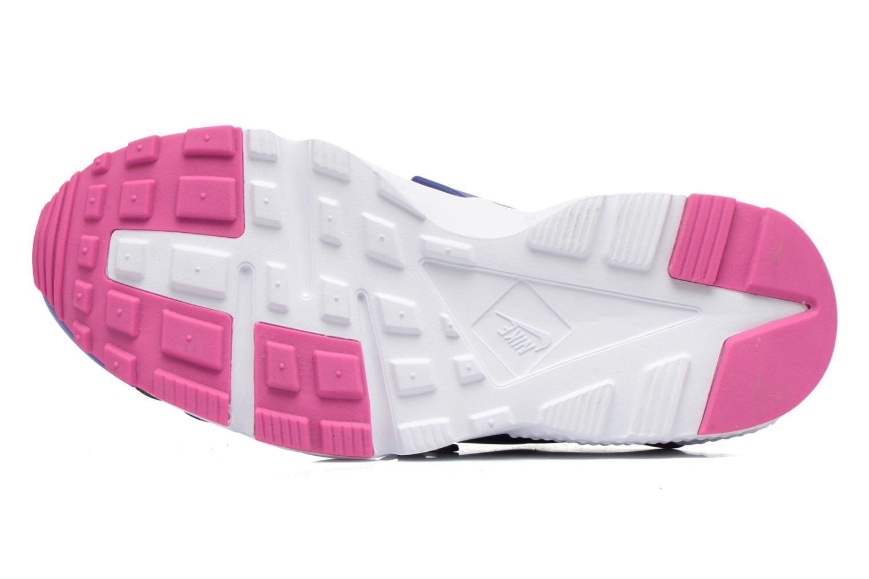 Baskets Nike Nike Huarache Run Print (Gs) Violet vue haut