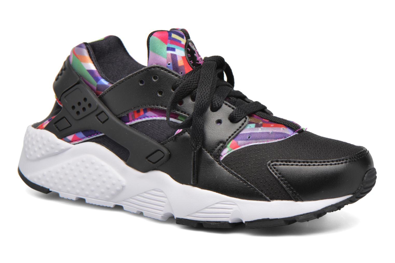 Sneakers Nike Nike Huarache Run Print (Gs) Zwart detail