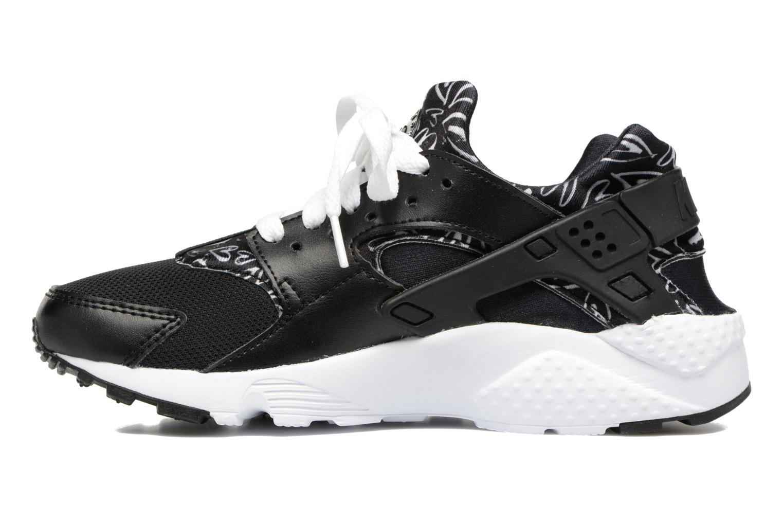 Baskets Nike Nike Huarache Run Print (Gs) Noir vue face