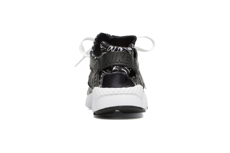 Baskets Nike Nike Huarache Run Print (Gs) Noir vue droite