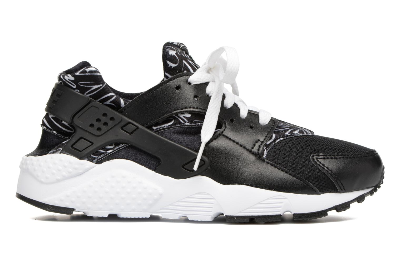 Sneakers Nike Nike Huarache Run Print (Gs) Zwart achterkant