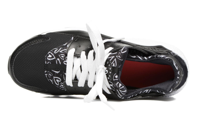Baskets Nike Nike Huarache Run Print (Gs) Noir vue gauche