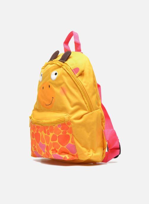 Skoletasker Kid's Sac à dos Girafe Gul se skoene på