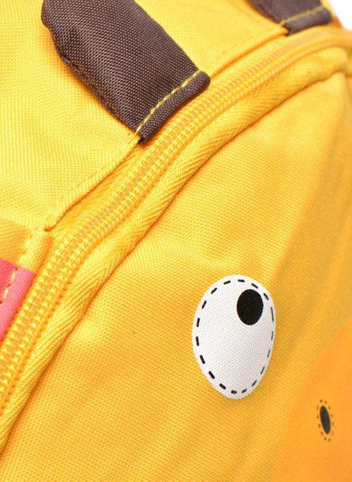Skoletasker Kid's Sac à dos Girafe Gul se fra venstre
