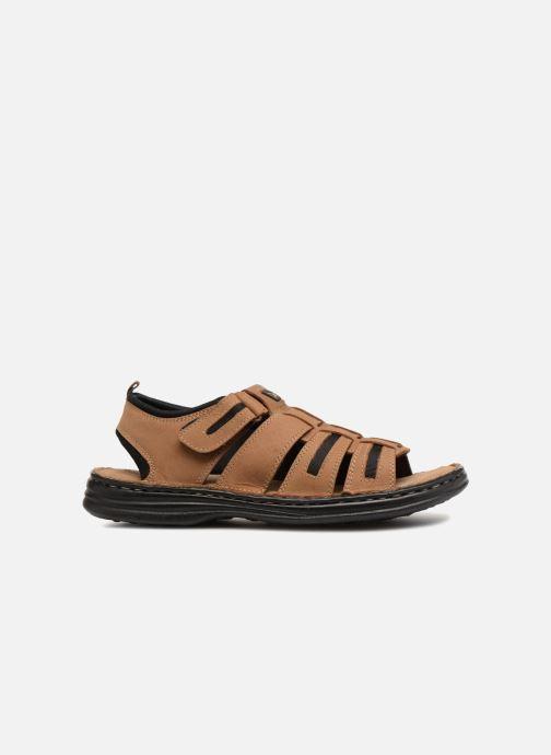 Sandales et nu-pieds Roadsign Garibou Marron vue derrière