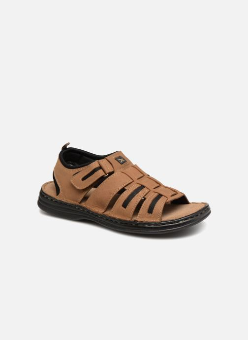 Sandales et nu-pieds Roadsign Garibou Marron vue détail/paire