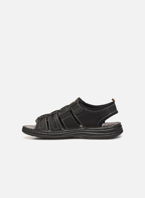 Sandales et nu-pieds Roadsign Garibou Noir vue face