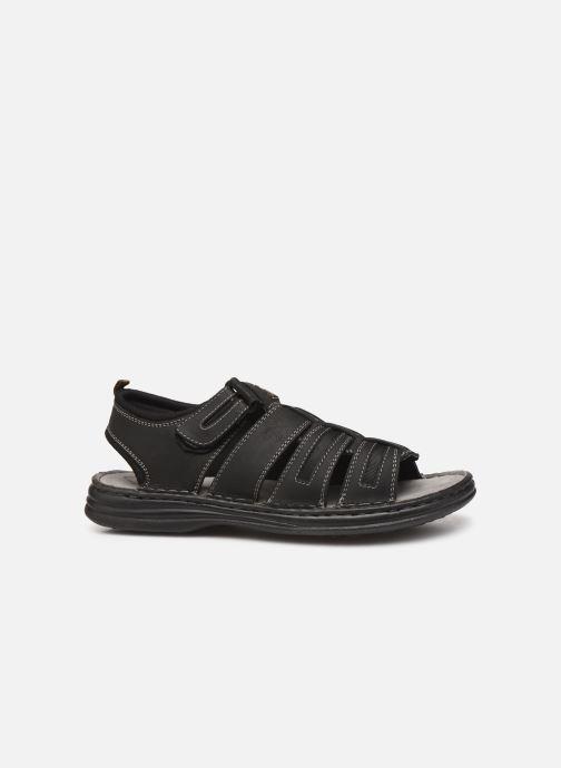 Sandales et nu-pieds Roadsign Garibou Noir vue derrière
