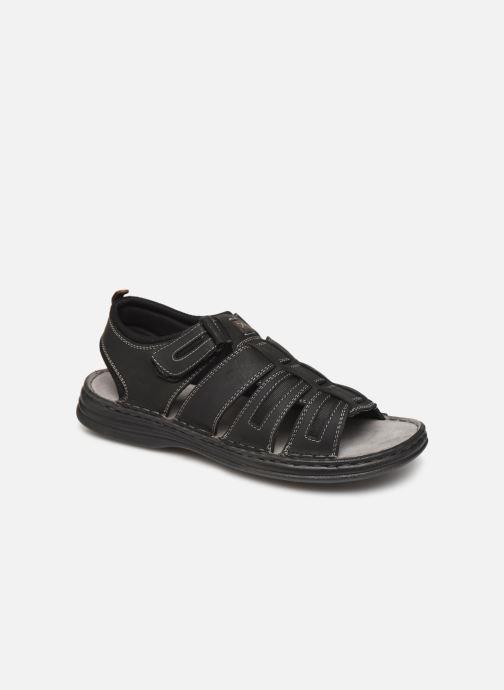 Sandales et nu-pieds Roadsign Garibou Noir vue détail/paire