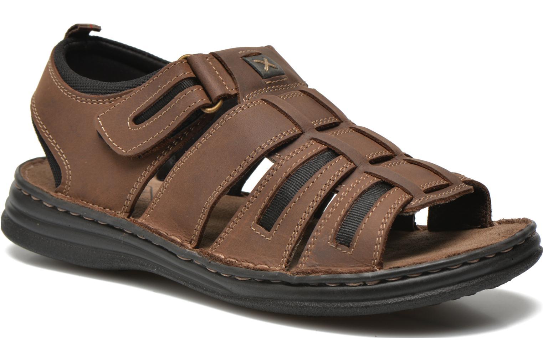 Sandaler Roadsign Garibou Brun detaljeret billede af skoene