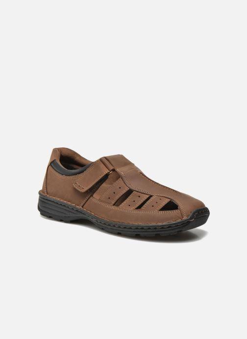 Sandales et nu-pieds Roadsign Garry Marron vue détail/paire
