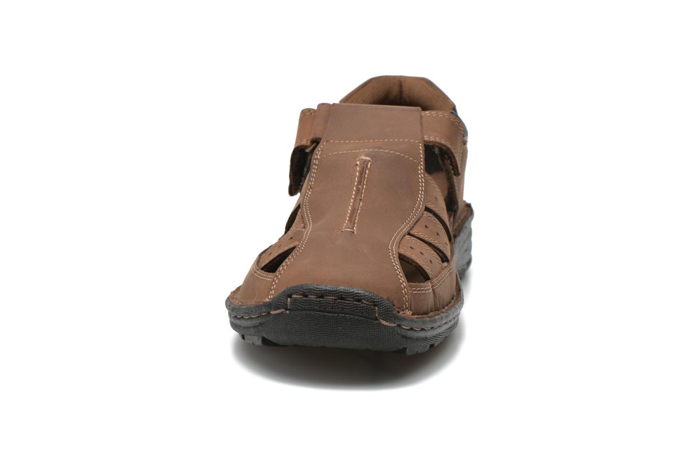 Sandales et nu-pieds Roadsign Garry Marron vue portées chaussures