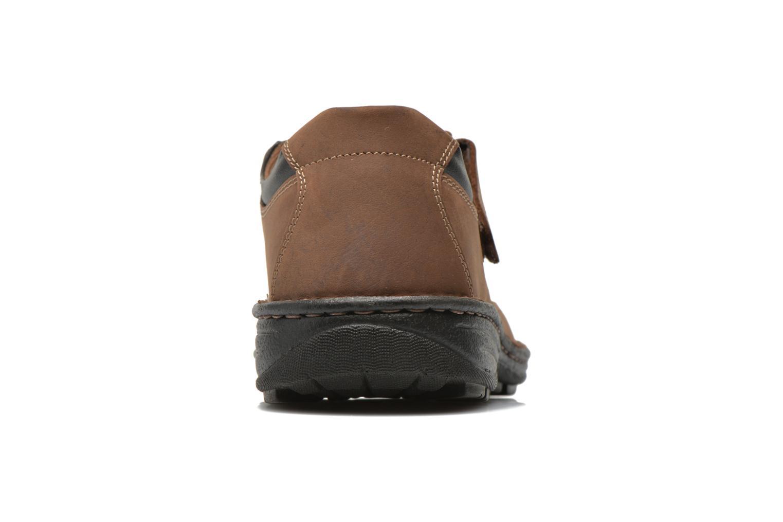Sandales et nu-pieds Roadsign Garry Marron vue droite