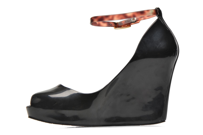 Sandales et nu-pieds Melissa MELISSA PATCHULI X AD Noir vue face