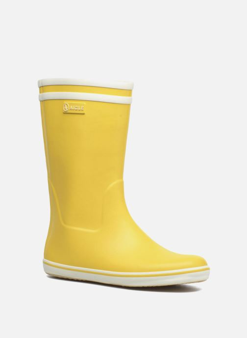 Boots & wellies Aigle Malouine BT Yellow detailed view/ Pair view