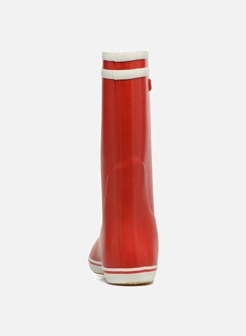 Botas Aigle Malouine BT Rojo vista lateral derecha