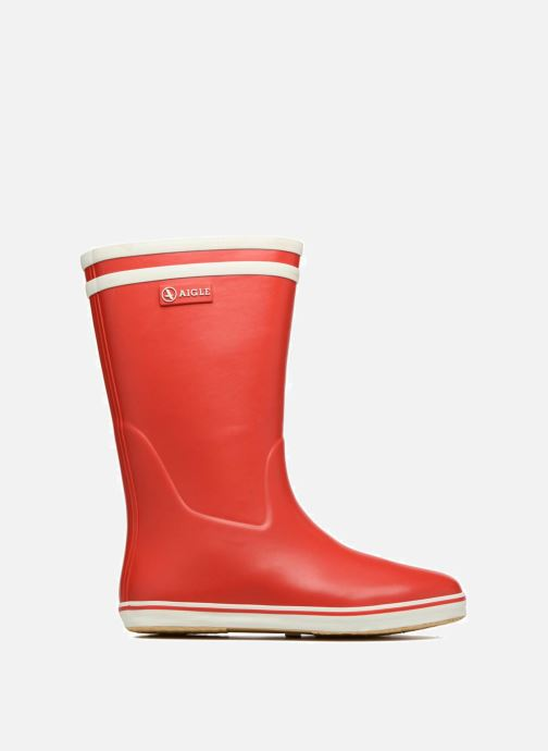 Boots & wellies Aigle Malouine BT Red back view