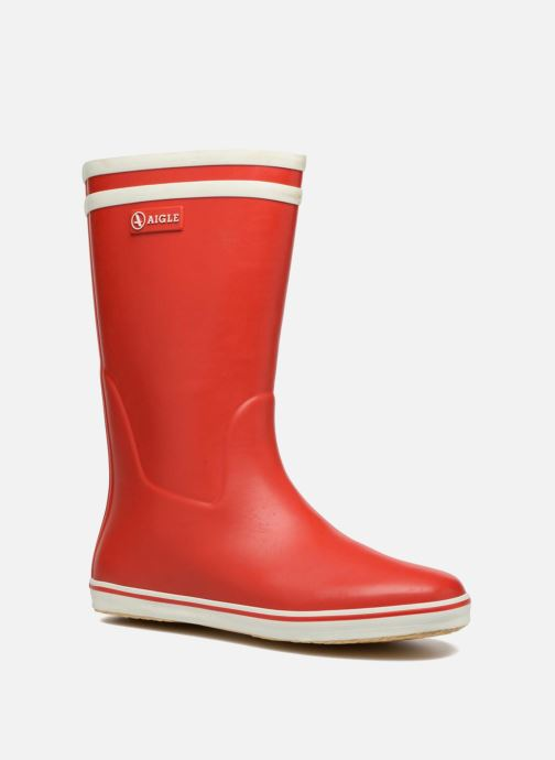 Boots & wellies Aigle Malouine BT Red detailed view/ Pair view