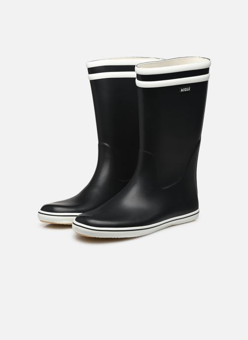 Boots & wellies Aigle Malouine BT Blue view from underneath / model view