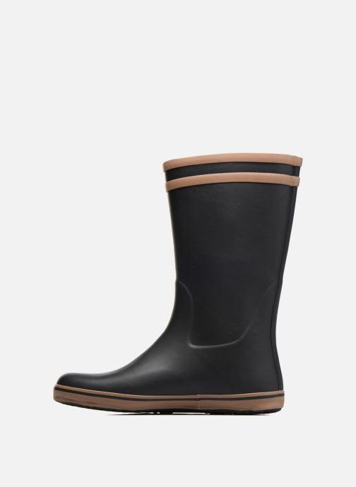 Stiefel Aigle Malouine BT schwarz ansicht von vorne