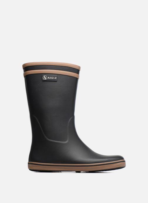 Boots & wellies Aigle Malouine BT Black back view