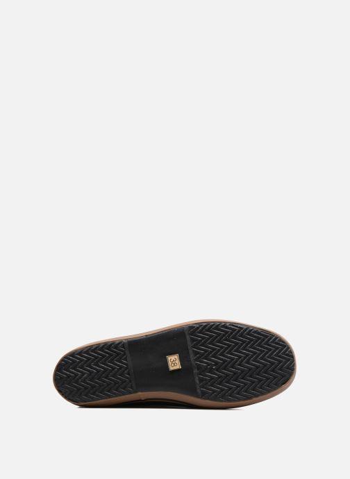 Stiefel Aigle Malouine BT schwarz ansicht von oben
