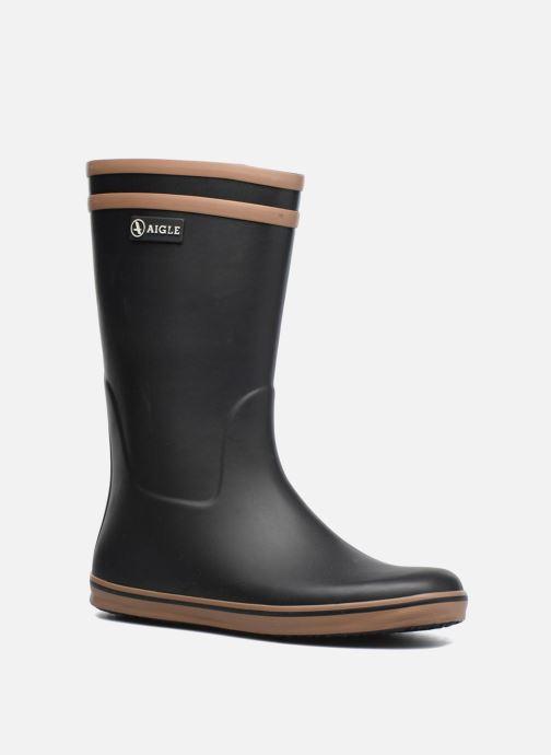 Boots & wellies Aigle Malouine BT Black detailed view/ Pair view