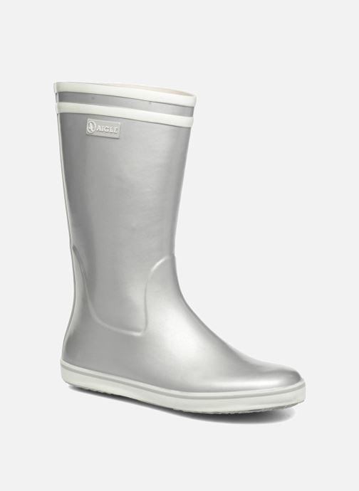 117f36b99e5 Støvler & gummistøvler Aigle Malouine BT Sølv detaljeret billede af skoene
