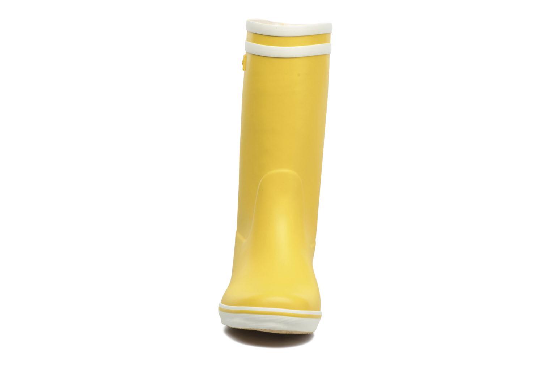Bottines et boots Aigle Malouine BT Jaune vue portées chaussures