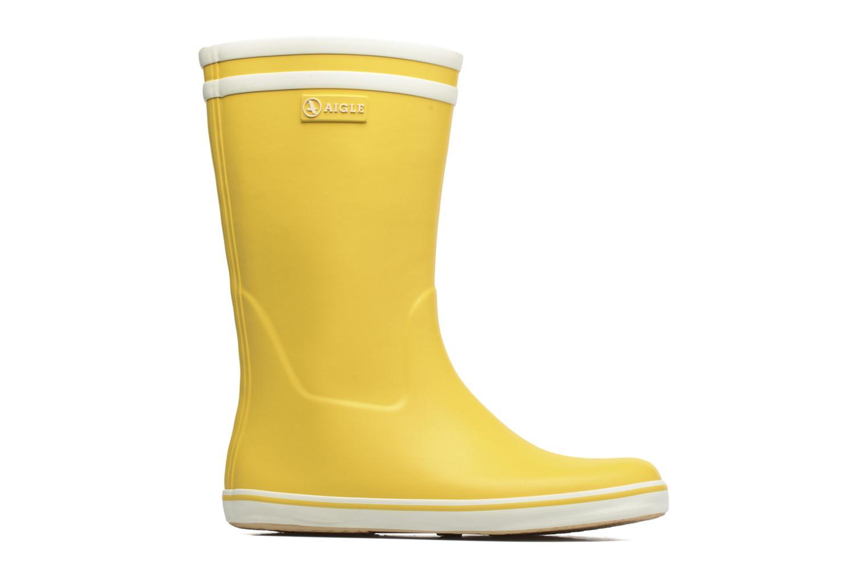 Bottines et boots Aigle Malouine BT Jaune vue derrière