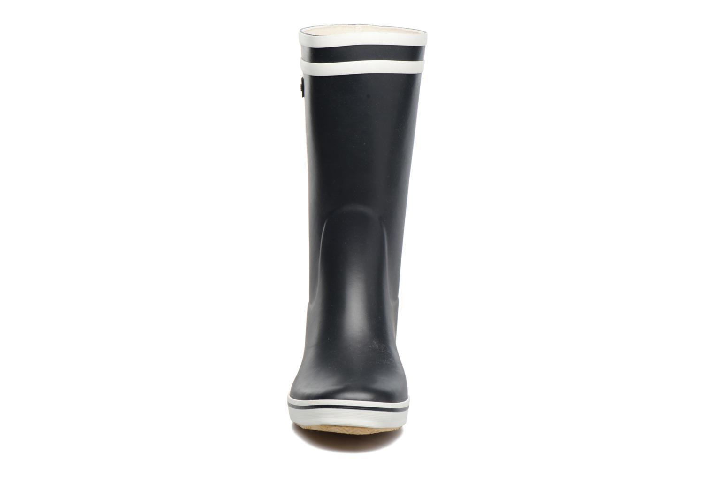 Bottines et boots Aigle Malouine BT Bleu vue portées chaussures