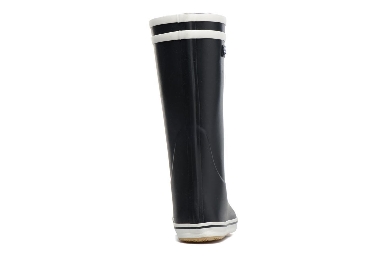 Bottines et boots Aigle Malouine BT Bleu vue droite