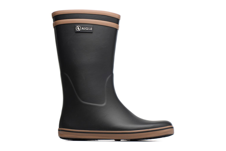 Bottines et boots Aigle Malouine BT Noir vue derrière