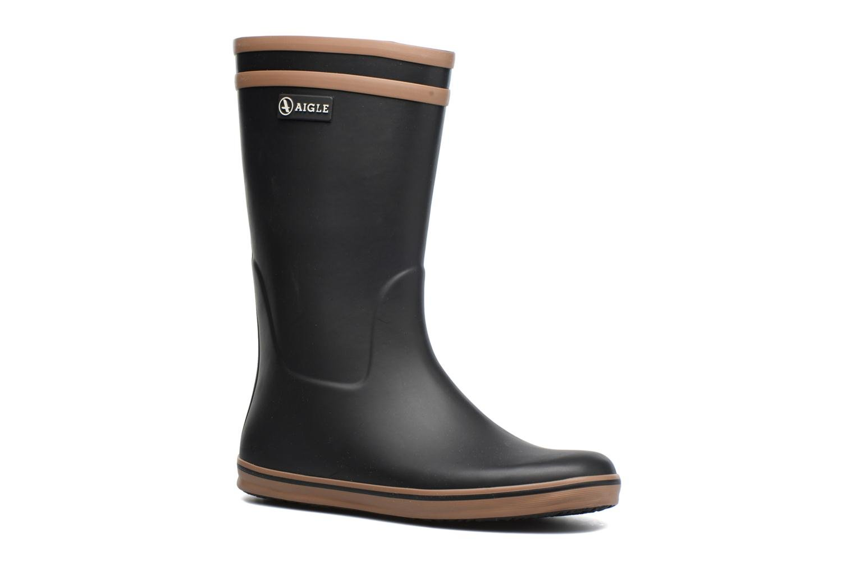 Bottines et boots Aigle Malouine BT Noir vue détail/paire