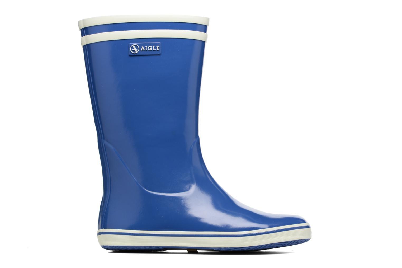 Bottines et boots Aigle Malouine BT Bleu vue derrière