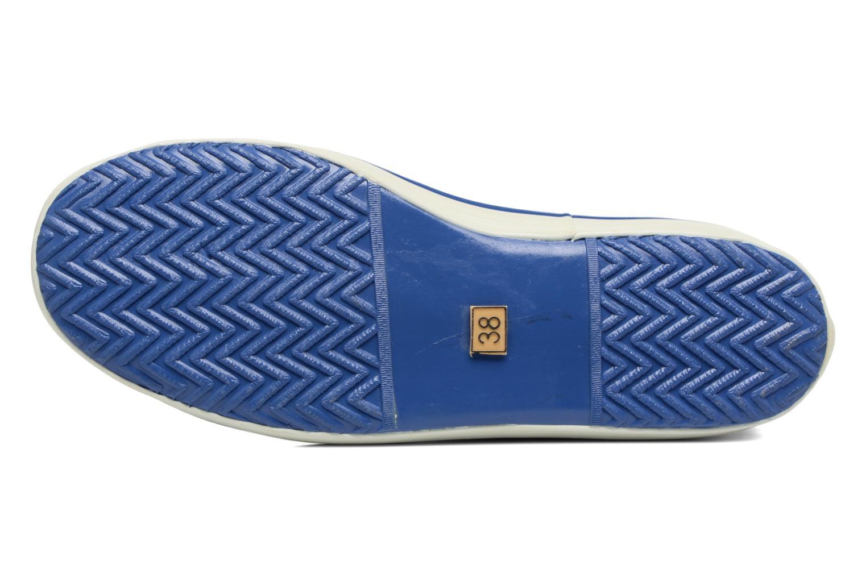 Bottines et boots Aigle Malouine BT Bleu vue haut