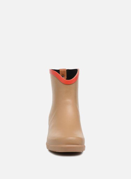 Bottines et boots Aigle MS Juliette BOT Beige vue portées chaussures