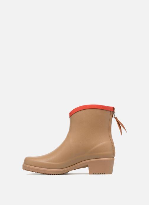 Ankle boots Aigle MS Juliette BOT Beige front view